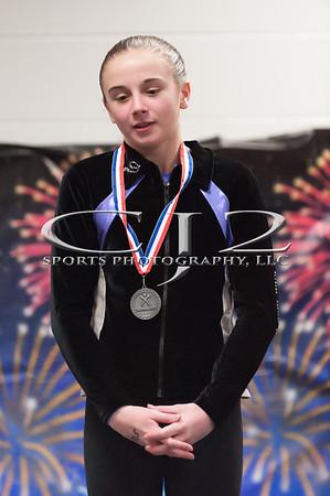 3-29-2015 Level 8 Gymnastics States Award Cermony