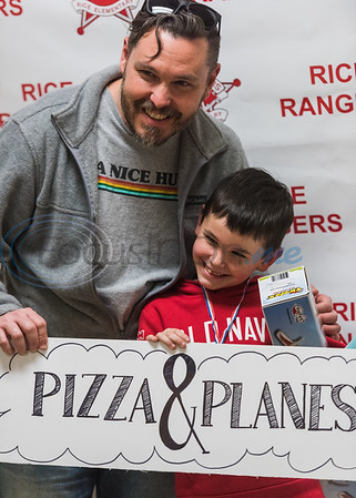 Rice Elementary's 5th annual Pizza and Planes by Cara Campbell