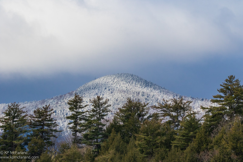 Spring Snowstorm - Ascutney Mountain