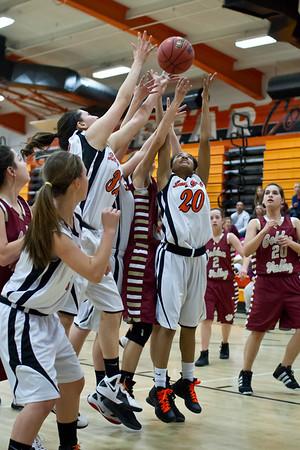 MHS Girls BBall vs Golden Valley Feb 16 2012