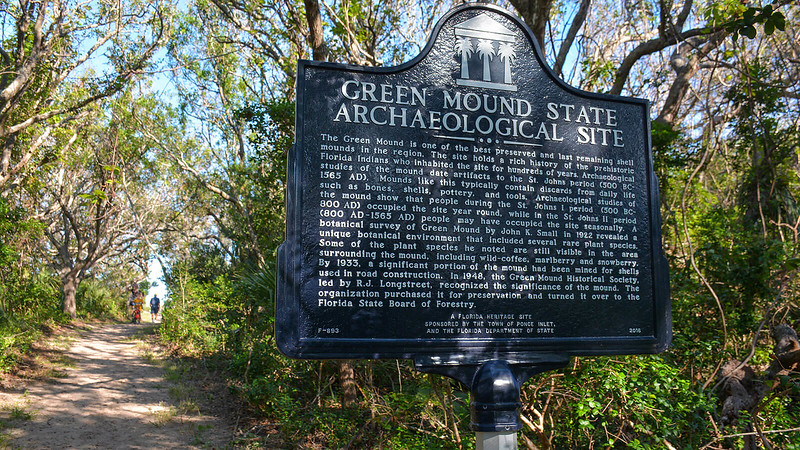 Green Mound Historic Sign