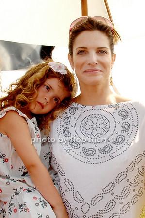 Lily Brant and Stephanie Seymour