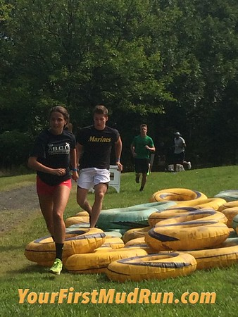 Pictures: 2017 Your First Mud Run at Garret Mountain in NJ 8/6/2017