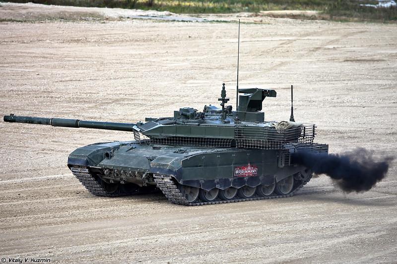Танк Т-90М (T-90M main battle tank)