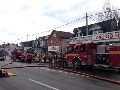 November 6, 2012 - Working Fire - 1154 Dufferin St.