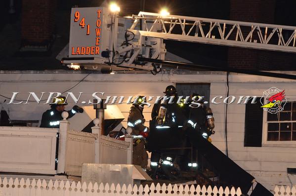 Jericho F.D. Building Fire Milleridge Inn 585 North Broadway 5-14-14