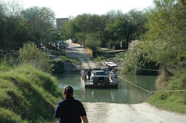 Journal Site 57: Los Ebanos Ferry