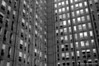"B&W version. Back side of a high rise building in downtown Ottawa.  Cityscapes outing of the Camera Club of Ottawa.  <a href=""http://www.robhuntley.ca/Stock-Photography/City-Scenes/City-Scenes/4486745_mNfr5#716130496_icSwY"">See a colour version here</a>.  © Rob Huntley"