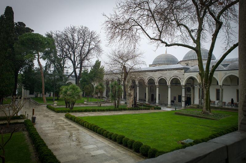 Topkapi Palace inner gardens