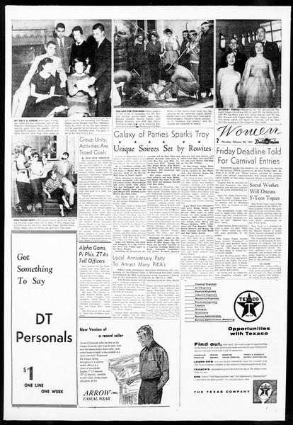 Daily Trojan, Vol. 48, No. 83, February 28, 1957