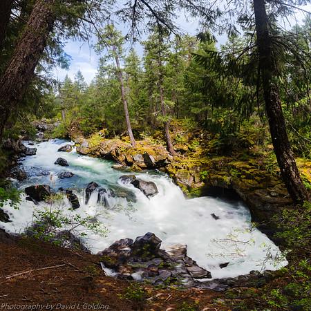 Natural Bridge (Falls) on the Rogue River