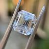3.10ct Vintage Emerald Cut Diamond, GIA H VS1 25