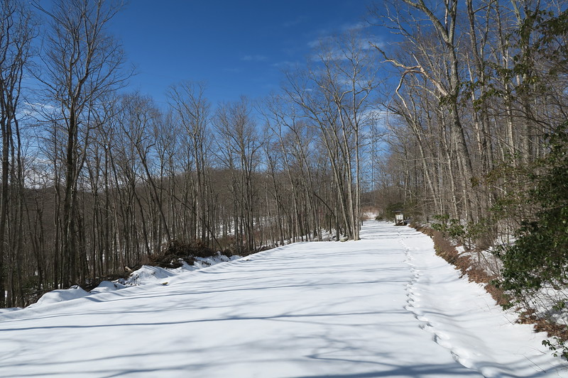 Panthertown Valley - Cold Mountain Parking Area
