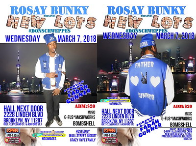 "ROSAY BUNKY ""NEW LOTS 2018""(0)"