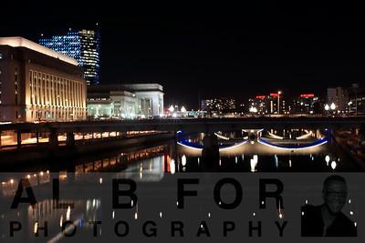 Jan 5, 2016, Night Photography 30th Street, Walnut Street bridge