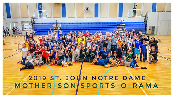 APRIL 5th, 2019 | St. John Notre Dame Mother-Son Sports-O-Rama