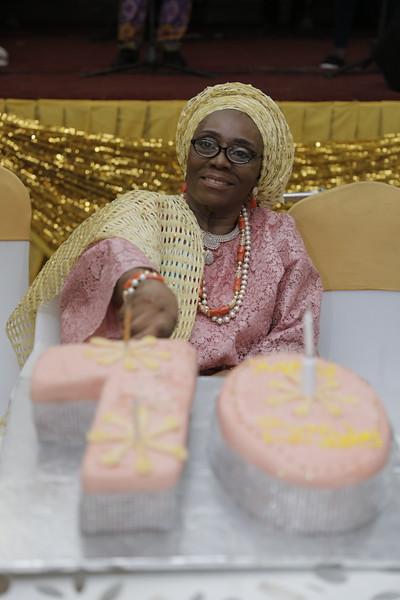 Mrs Adedoyin Fehintola ODUSANYA @ 70