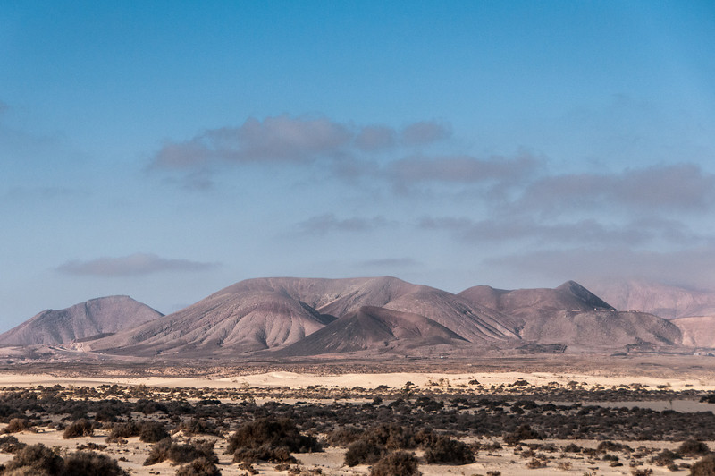 Montaña de Escanfraga in Fuerteventura, Canary Islands, Spain