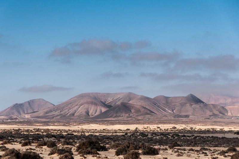 Montaña de Escanfraga in Fuerteventura, Canary Islands, Spain