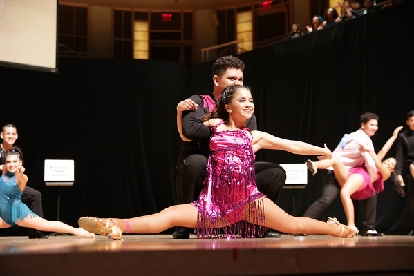 2016 After school dance Fund 17th annual MCPS Latin dance competition