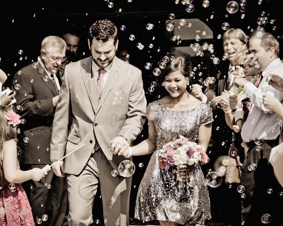 Laster-Bowers Wedding
