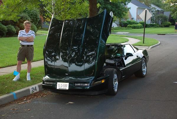 Jim's Corvette