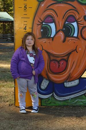 Ava & Gracie's Pumpkin Patch Farms trip 2017