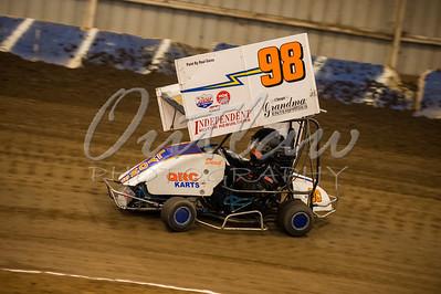 Outlaw Karts - Jan 27, 2013 - River Arena Speedway