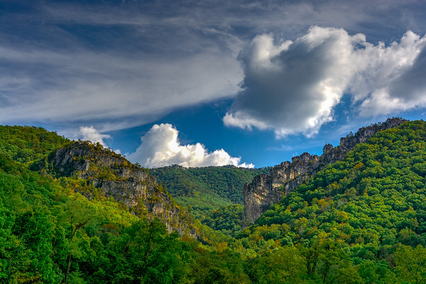 Seneca Rocks, WV (4 Images)