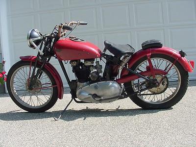 Terry Clark's 1938 Speed Twin
