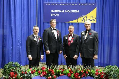 Royal Holstein Ring Presentations Judges 2018