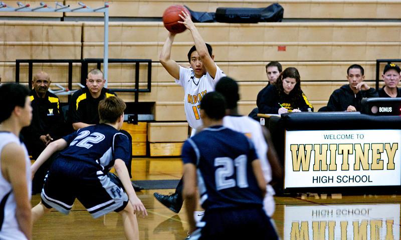 WHS vs Flintridge Basketball 2011