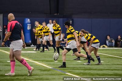 10-3-14 Michigan Women's Rugby Vs Michigan State