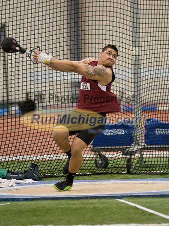 Men's Weight Throw - 2012 NAIA Indoor