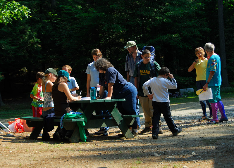 The foot-O start table