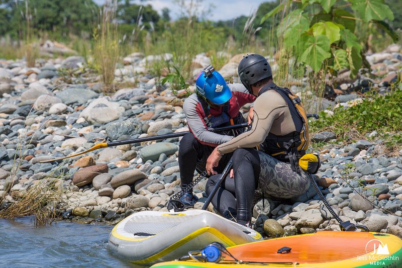 SUP first-descent expedition with Apumayo Expediciones and team on Peruvian Amazon jungle rivers.  May 2017.