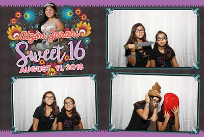 Atziri's Sweet 16-Photo Booth Pictures