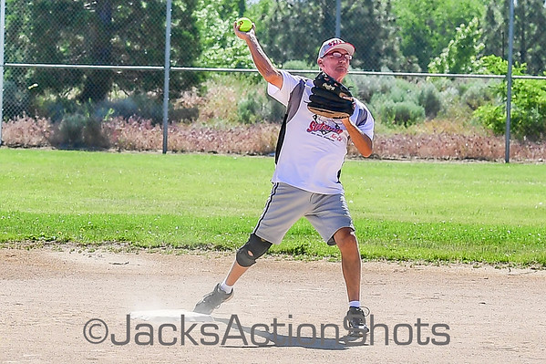 Silver Streaks vs Stixx Softball