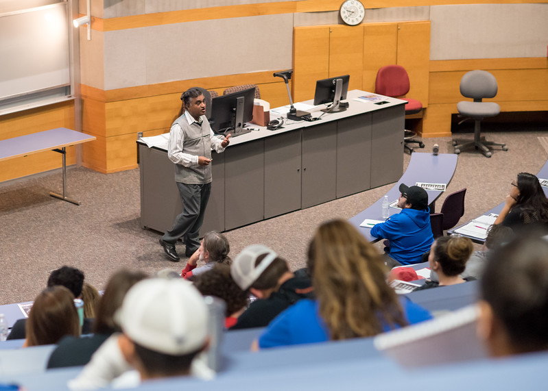 Dr. Narendra Narayana goes over some topics he will be covering in Introductory Chemistry.