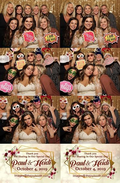 Paul & Heidi's Wedding 10-4-2019 PRINTS