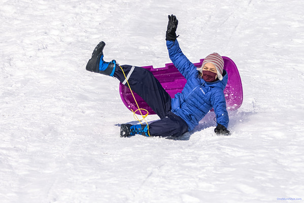 Sledding at Valley Forge  ~ 02/20/2021