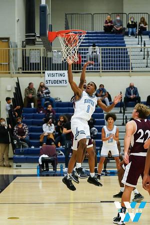 12-1-2020 HVA vs Fulton Boys Basketball