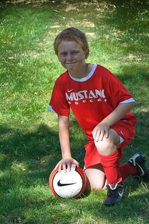 Mustang Soccer 2010 Team Wolverine Team Shots