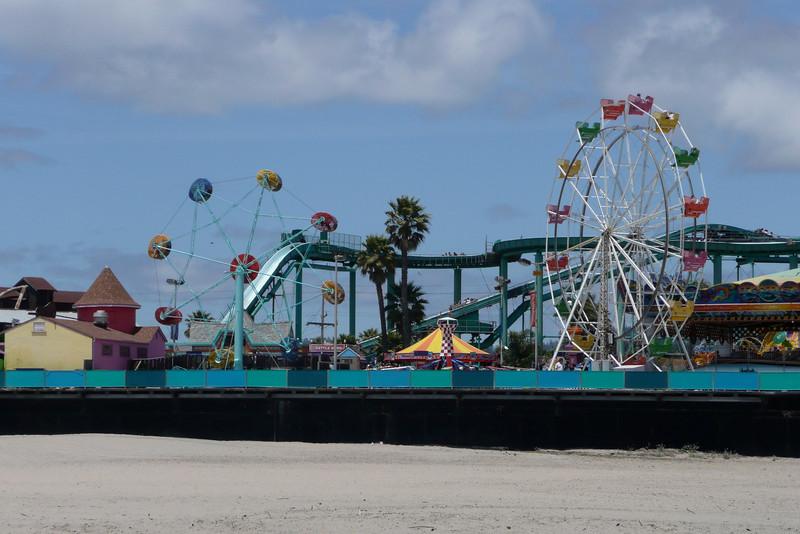Beach Boardwalk. Santa Cruz