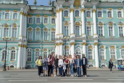 IBT dancers at the Hermitage and other City sites