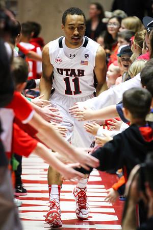 U of U Men's Basketball vs Arizona State • 02-23-2014