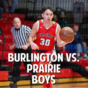 Burlington vs. Prairie Boys