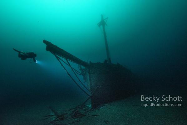 Lake Huron Shipwrecks