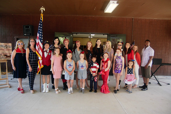 Mary Therse Friel - Veterans Show - July 4, 2019