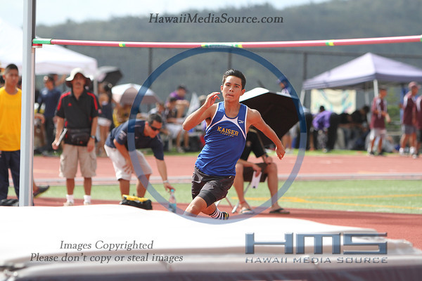 Boys State High Jump 5-10-14